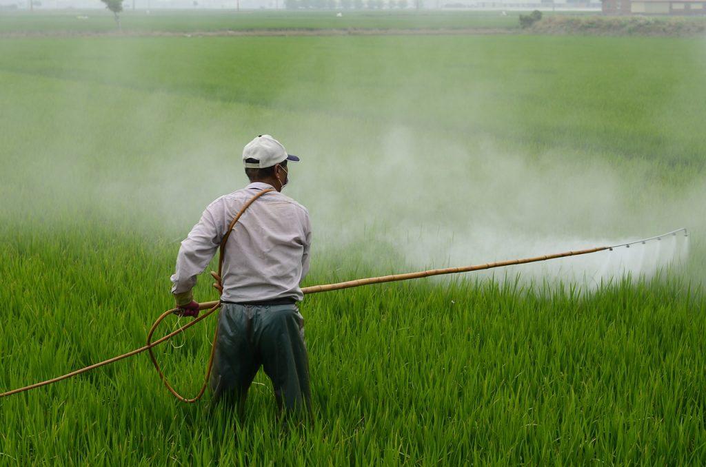 Agriculture contre l'usage d'herbicide chimique